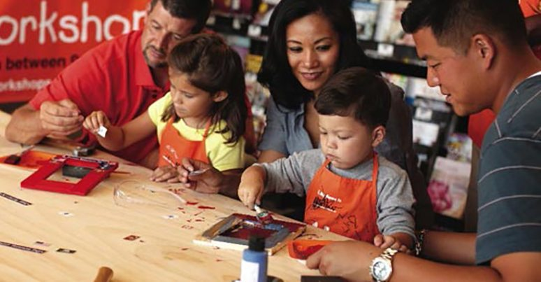 Home Depot Kids Workshop Free Classes For Kids
