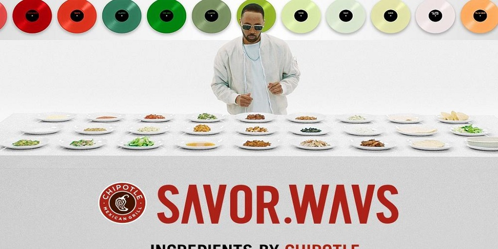 CHIPOTLE IS GIVING AWAY FREE BURRITOS THROUGH A NEW MUSIC PROMOTION  