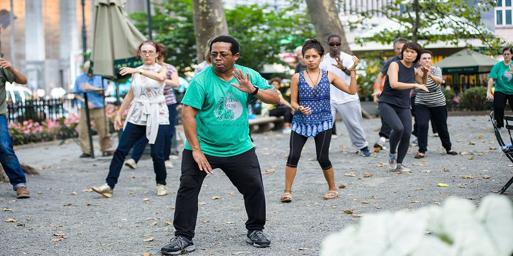 Free Tai Chi Class at Bryant Park |