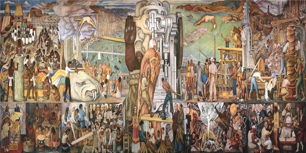 Diego Rivera Mural At City College Free Guided Walking Tour